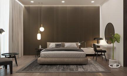 Визуализация интерьера квартиры в ЖК Balchug Viewpoint | Современный стиль | Фото №12
