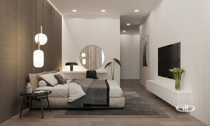 Визуализация интерьера квартиры в ЖК Balchug Viewpoint | Современный стиль | Фото №13