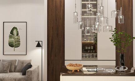 Визуализация интерьера квартиры в ЖК Balchug Viewpoint | Современный стиль | Фото №6