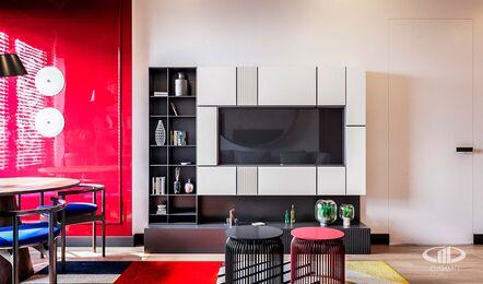 Дизайн интерьера однокомнатной квартиры в ЖК Достояние | Фото №1