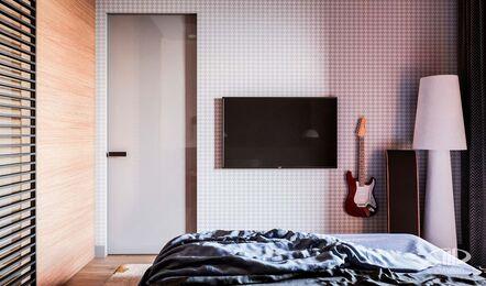 Дизайн интерьера однокомнатной квартиры в ЖК Достояние | Фото №11
