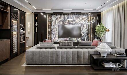 Дизайн 3-комнатной квартиры в ЖК Вишневый сад | Фото №2