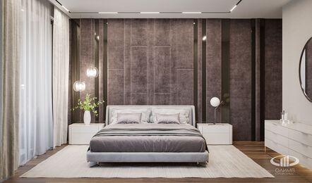 Дизайн интерьера квартиры в ЖК Город на Реке Тушино-2018 | Фото №11 | Спальня