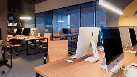 Дизайн интерьера co-working офиса | Фото №11