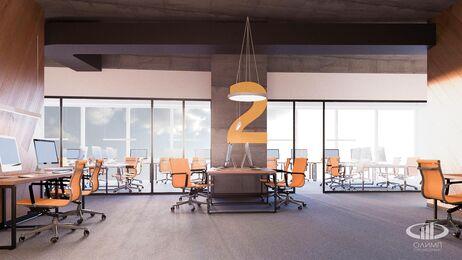 Дизайн интерьера co-working офиса | Фото №12