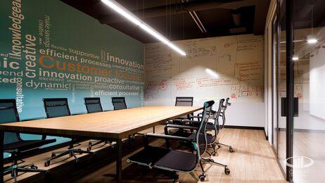 Дизайн интерьера co-working офиса | Фото №13