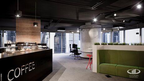 Дизайн интерьера co-working офиса | Фото №3