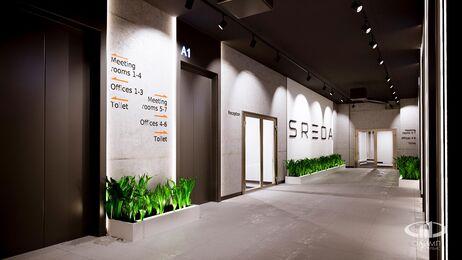 Дизайн интерьера co-working офиса | Фото №4