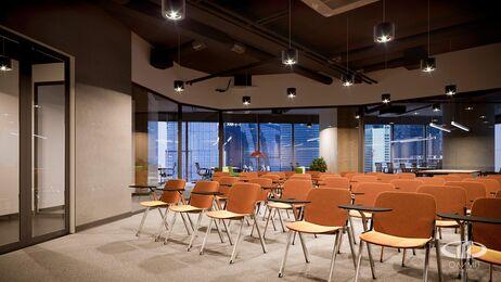 Дизайн интерьера co-working офиса | Фото №5