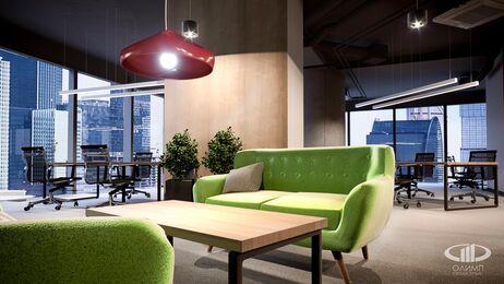 Дизайн интерьера co-working офиса | Фото №9