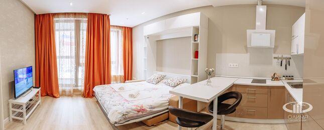 Дизайн и ремонт квартиры-студии в ЖК Лайнер | Фото №10